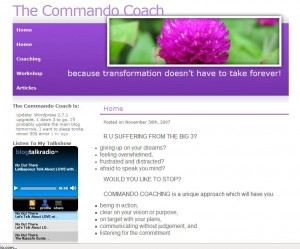 www.thecommandocoach.com
